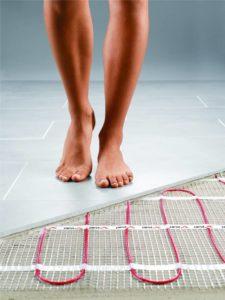 heated floors